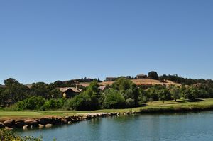 Whitney Oaks Golf Course Lake
