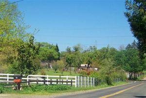 Orangevale - Rural street 2