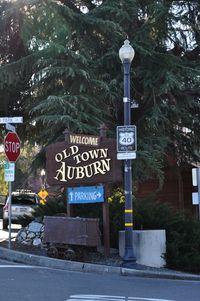 Old Town Auburn Sign